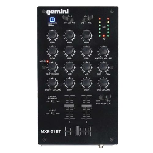 Gemini Gemini MXR-01BT 2 Channel Mixer With Bluetooth