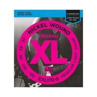 D'Addario EXL 170-5 Nickel Wound 45-130 5-String Bass Guitar Strings
