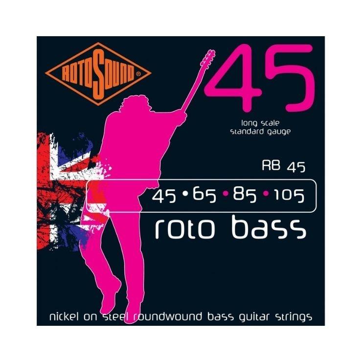 Rotosound Rotosound RB45 Roto Bass Nickel Roundwound Strings 45-105