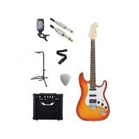 Chord Electric Guitar Starter Pack Cherry Sunburst