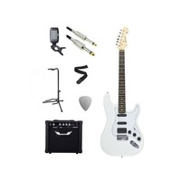 Chord Electric Guitar Starter Pack White