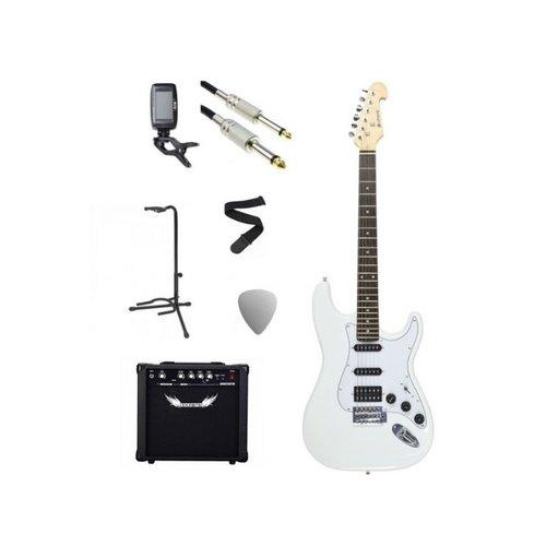 Chord Chord Electric Guitar Starter Pack White