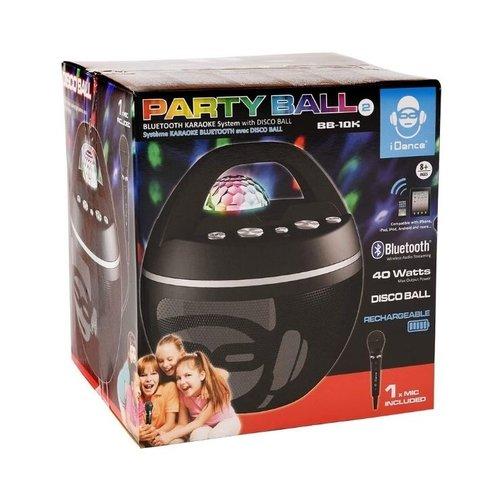 IDance IDANCE Portable BT Karaoke Speaker With Disco Ball