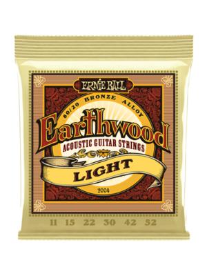 Earth Wood Ernie Ball Earthwood 80/20 Bronze Light Set 11-52