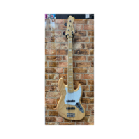 Revelation RBJ 67 DLX 5 Natural 5 String Bass Guitar