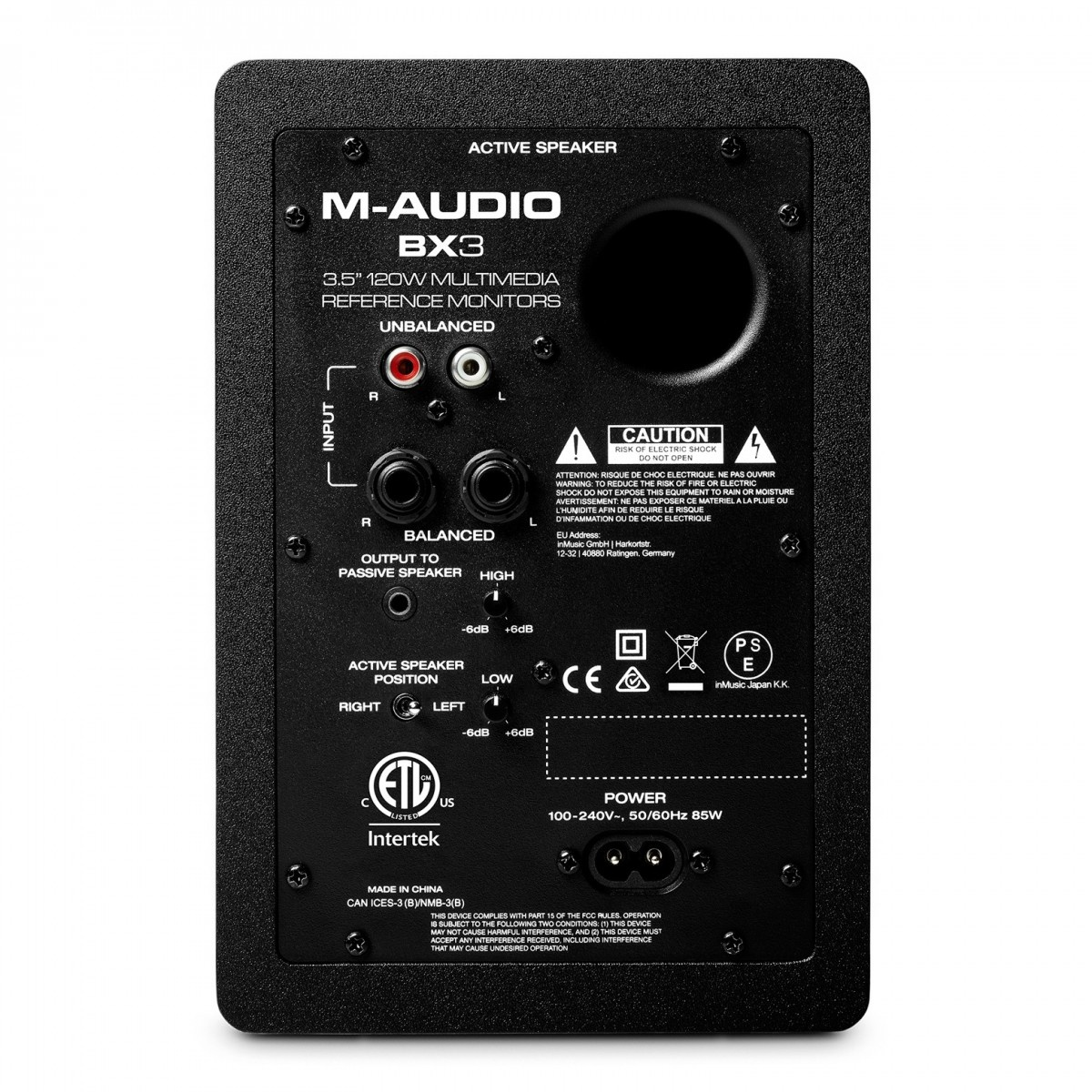 M Audio M-Audio BX3 Pair