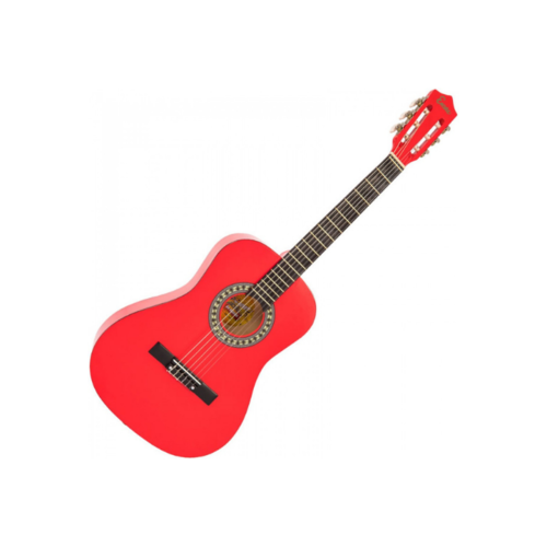 ENCORE ENC34ROFT Encore 3/4 classical guitar pack in Red
