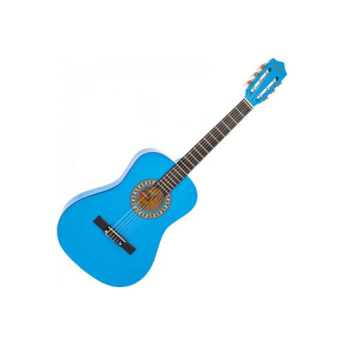 ENCORE ENC34BLOFT 3/4 Classical guitar pack in Blue
