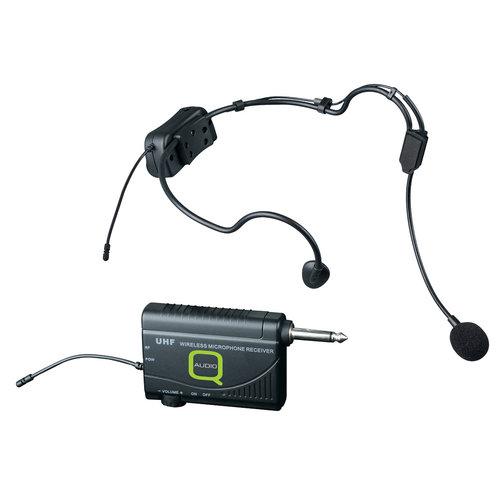 Q Mic QWM 1900 HS headset wireless microphone system