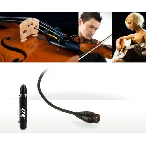 JTS CX-500 Condenser Instrument Microphone with MA500 phantom power adaptor