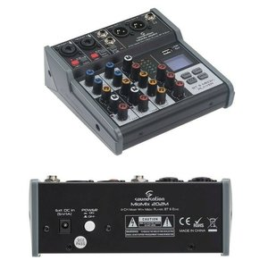 Soundsation MEO-MIX 202M Audio Mixer With Bluetooth