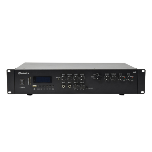 adastra 956.402uk Adastra 2 X 100 watt mixer amp with media player