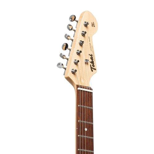 tokai Tokai AST52 MR strat guitar in Candy apple red