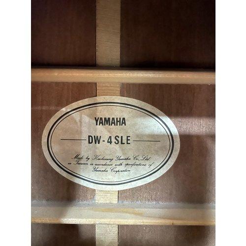 Yamaha S/H 1998 Yamaha DW-4SLE left handed electro acoustic