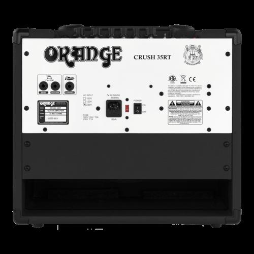 Orange Orange Crush 35RT Combo, Black
