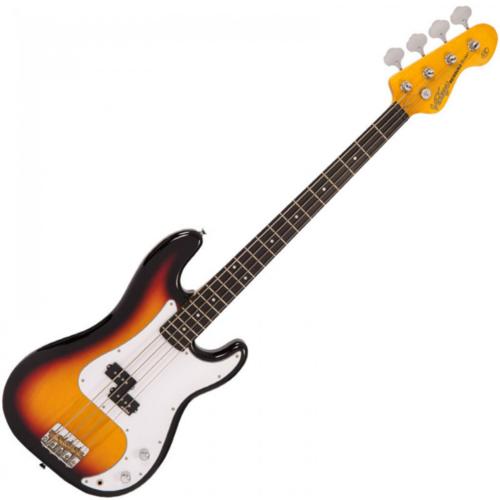 VINTAGE Vintage V4SB Reissued Bass (Sunburst)