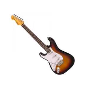 VINTAGE Vintage V6 Left Handed Guitar Sunburst