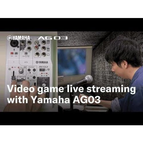 Yamaha AG03 Digital audio interface with built in FX and Compression