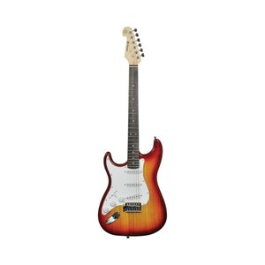 Chord Chord CAL63 Left Handed Electric Guitar (Cherry Sunburst)