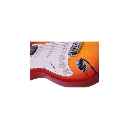 Chord Chord CAL63 Left Handed Electric Guitar (Cherry Sunburst)