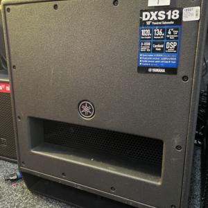 Yamaha Ex Display Yamaha DXS18 active sub (RRP £1399)