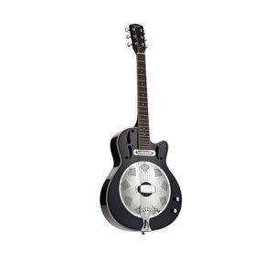 Ozark Ozark Resonator Guitar, Wooden Body Electro Acoustic Cutaway