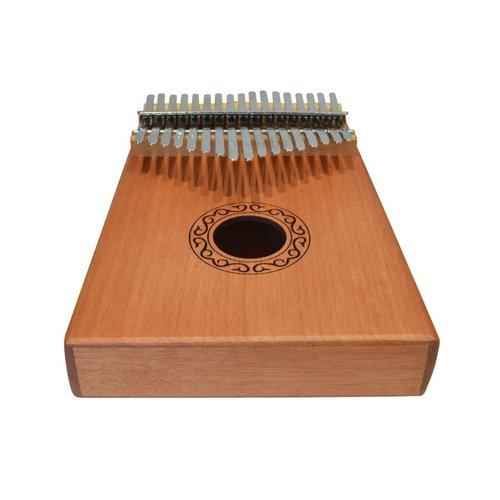 AVSL Chord Kalimba - 17 Key Mahogany With Accessories