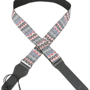 Chord Webbing Guitar Strap Red/White/Blue