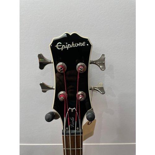 epiphone SH Epiphone Viola bass 2017 (RRP £389) with schaller strap locks