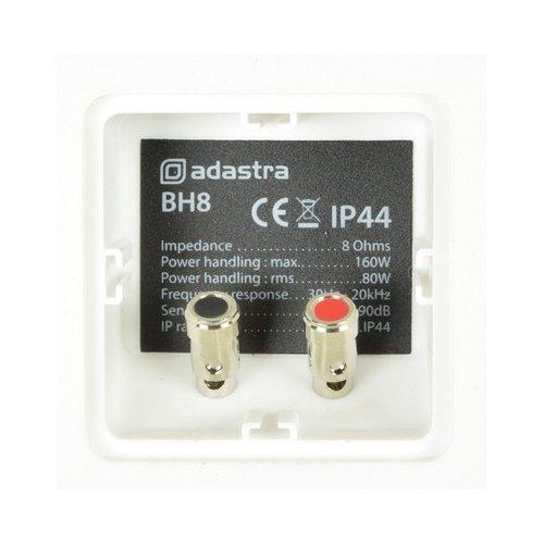 """adastra Adastra BH8 Speakers Outdoor Pair White 8"""" 120W"""