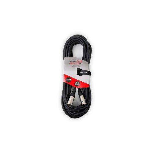 STAGECORE Stagecore CORE350LU15BK Female XLR To Male XLR Cable