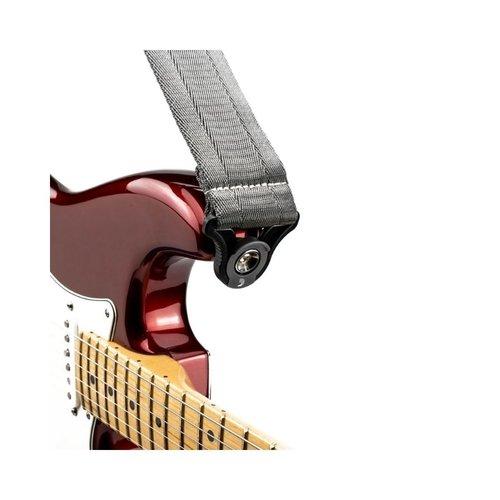 D'addario D'addario 50MM Auto Lock Guitar Strap  - Grey