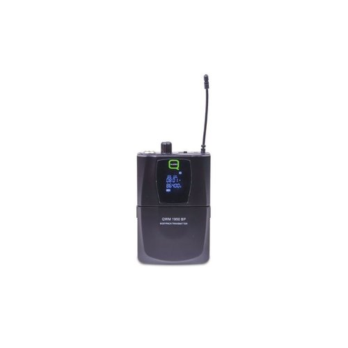 Q Mic Q Audio QWM1950 HH + BP UHF Dual Channel Diversity Handheld + Beltpack Wireless System