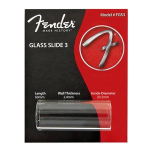 Fender Fender Glass Slide 3, Thick Medium (60mm)