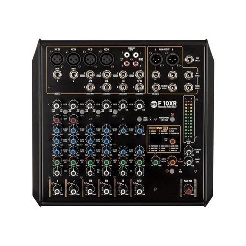 RCF RCF F 10XR 10 Channel Mixer With Multi FX