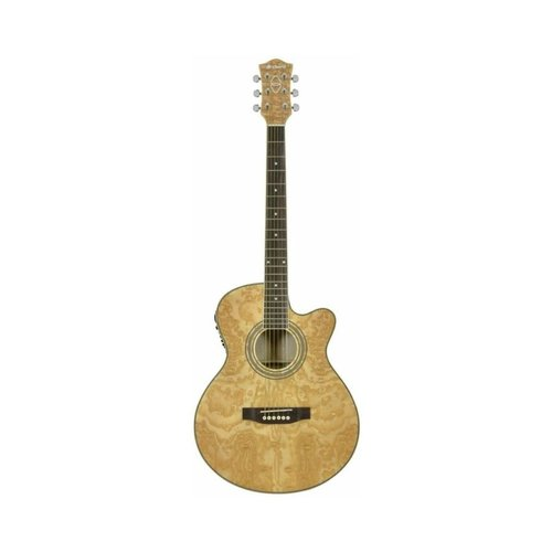 Chord Chord N4CA Curly Ash Electro Acoustic Guitar