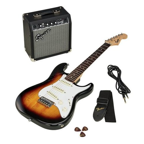 Squire by Fender Squire Stratocaster® Pack, Brown Sunburst