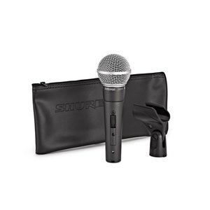 Shure Shure SM58S Dynamic Cardioid Vocal Microphone with Switch