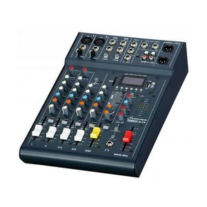 Hire of: Club XS6 mixer with Bluetooth connectivity