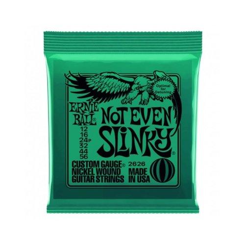 Ernie Ball Ernie Ball Nickel Wound Electric Guitar Strings 12-56 Not Even Slinky
