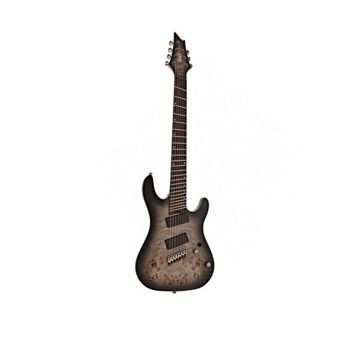 Cort Cort KX507  Multi Scale 7 String Stardust Black