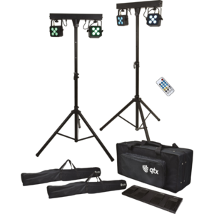 qtx QTX Stereo Twin PAR Bar - RRP £499 Special Price