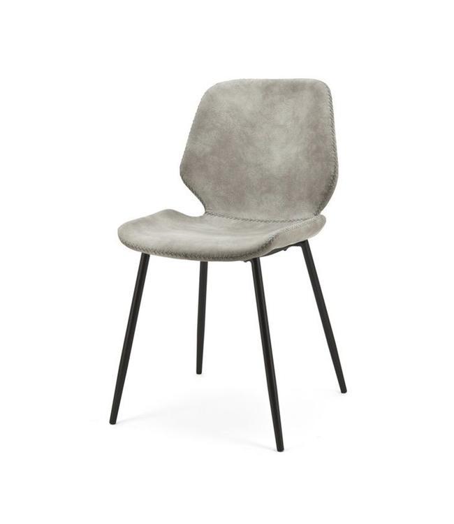 Stuhl Seashell Grau