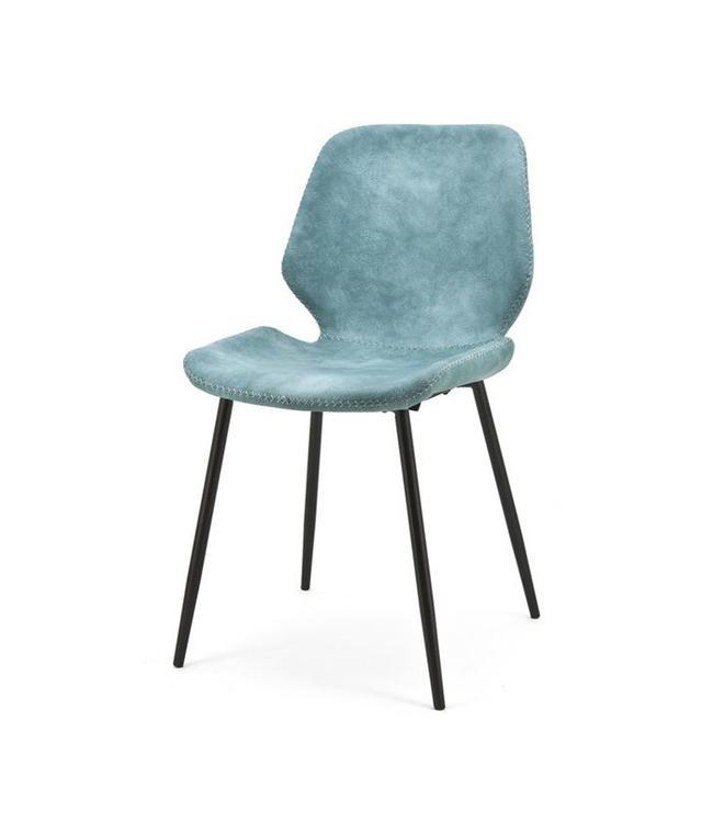 Stuhl Seashell Blau