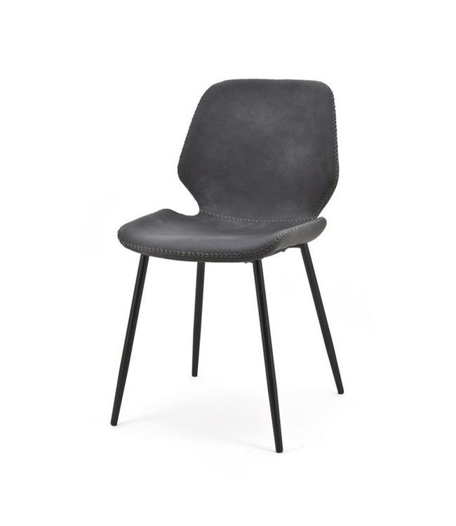 Stuhl Seashell Schwarz