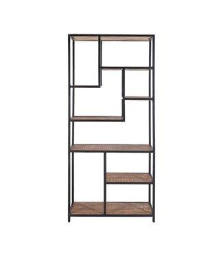 Bücherregal Soho 80x40x180 cm