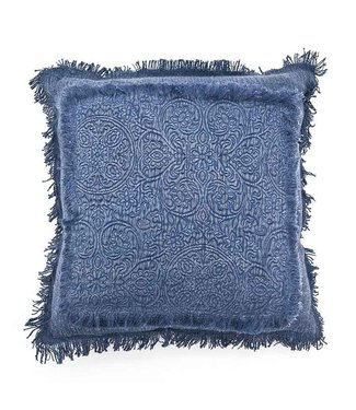By-Boo Kissen Floret 45x45 cm Blau
