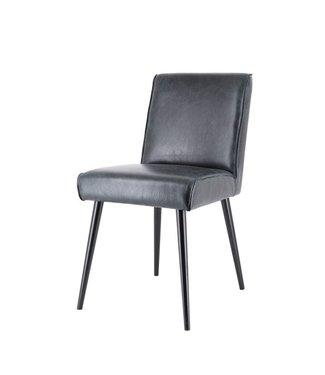 Stuhl Sascha - schwarz Cerato Leder