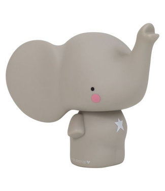 A Little Lovely Company Money box Grey elephant