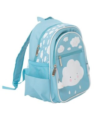 A Little Lovely Company Rucksack Wolke - blau